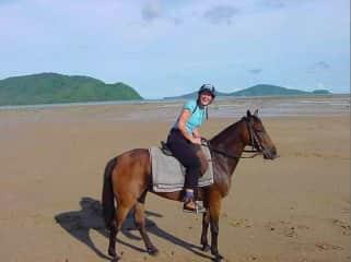 Caroline was a riding instructor