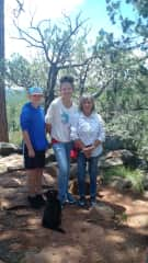 Janet loves to hike, especially with the grandkids
