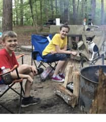 We love to go tent camping!