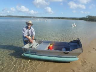 We are keen boaties