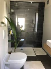 Downstairs bathroom (there is another full bathroom and 2 double bedrooms upstairs)