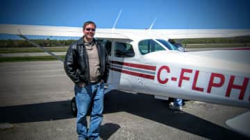 Jeff & his flying lessons