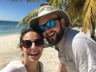 Vacationing in the Dominican Republic before Covid hit (we had no idea what was coming!)