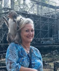 "...Monkey ""whisperer""😉 Cambodia January 2020"