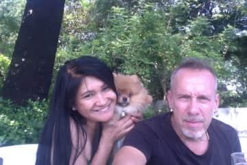 Tess, me and Pablo in Bangkok Thailand