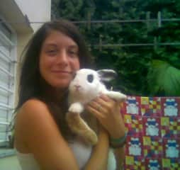 My rabbit Lolo, sweet and looky like him, none.