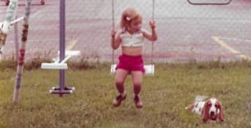 Just swinging