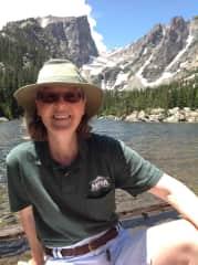 Riki Hiking in Colorado