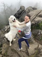 Hiking with Falkor!