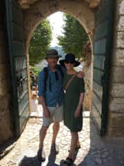 Michael and Helen in Portugal 2018