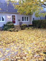 Our house, in the Autumn