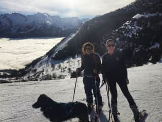 Ski Touring with Indy