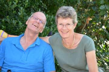 My husband Martin and I