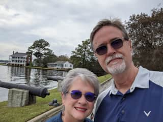 We visited Edenton NC and fell in love with this little southern port town.  So far, we've stayed at a couple of local Airbnbs.