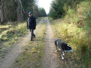A slow but enjoyable walk with Sweetie, 16