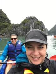 Kayaking- Vietnam, Nov 2017