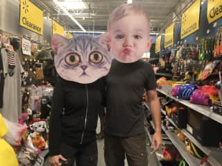 Not only do we love the cats, we can BE the cats.