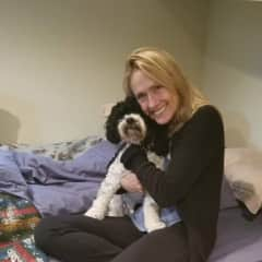 Pet sitting Zebi...what a soul he has!