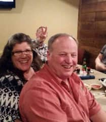 James and I at his party marking the end of his role as Fire Chief for 20+ years at his job.