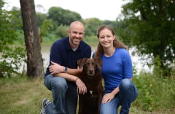 Will, Lisa and Duke (our fur-kid of 10 years who passed away July 2018)