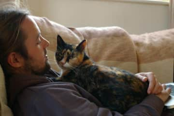 Mike and charlie cat