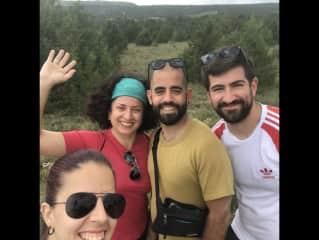 Hiking near Soria