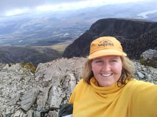 Me at the top of Ben Nevis in Scotland