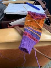 Knitting, always knitting!