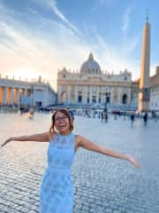 Vatican City! (I had a shawl to go into the basilica and chapels