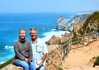 We enjoyed a great 3 weeks in Portugal, including time in Lisbon, Porto, Coimbra, Obidos, and Sintra.  This was taken along the coast on our drive.