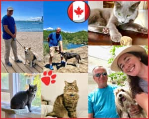 We loved being in Canada and have very fond memories of our furry and human friends there.