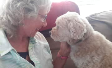 Chip and Lynda in Coquitlam, British Columbia, July 2019