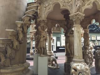 My favorite room in my favorite museum--the castings court at the V & A