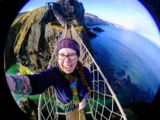 Rope Bridge in N. Ireland