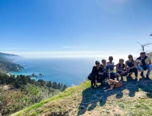 Exploring with Big Sur coast with friends