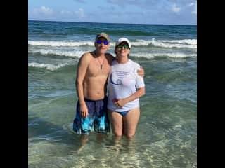 George and I in Deerfield Beach, FL
