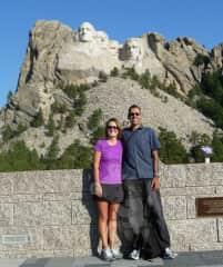 Wow, just wow! At Mount Rushmore National Memorial! (Black Hills/Keystone, South Dakota)