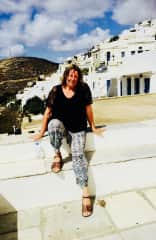 Yvonne in Greece