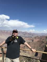I'm at the Grand Canyon