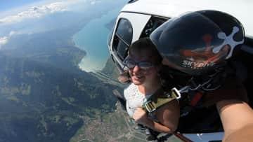 Skydiving in Interlaken