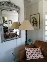Portion of living room