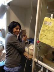 Working in the ICU!