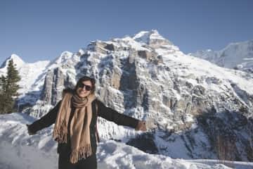 The Alps in Switzerland were absolutely breathtaking.