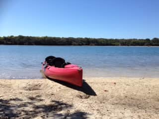 Our Hobie kayak