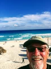 I love the beach, Mexico December 2017