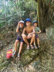 We love nature! We always say our boys are the very best version of themselves when they are out in nature
