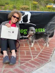 Shula completed her Therapy Dog Prep Class 2/22/2020!