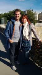 Fran and Ian In Paris