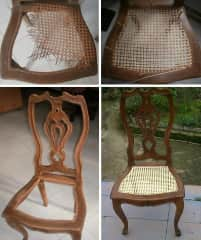 if you have any chairs that need to be caned, I would love to do it