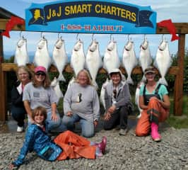 Halibut fishing with friends in AK!